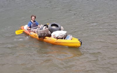 Great result of the joint clean up of the lake